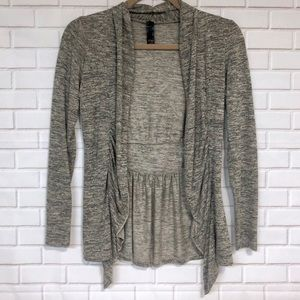 ZOAH Open Cardigan with bow